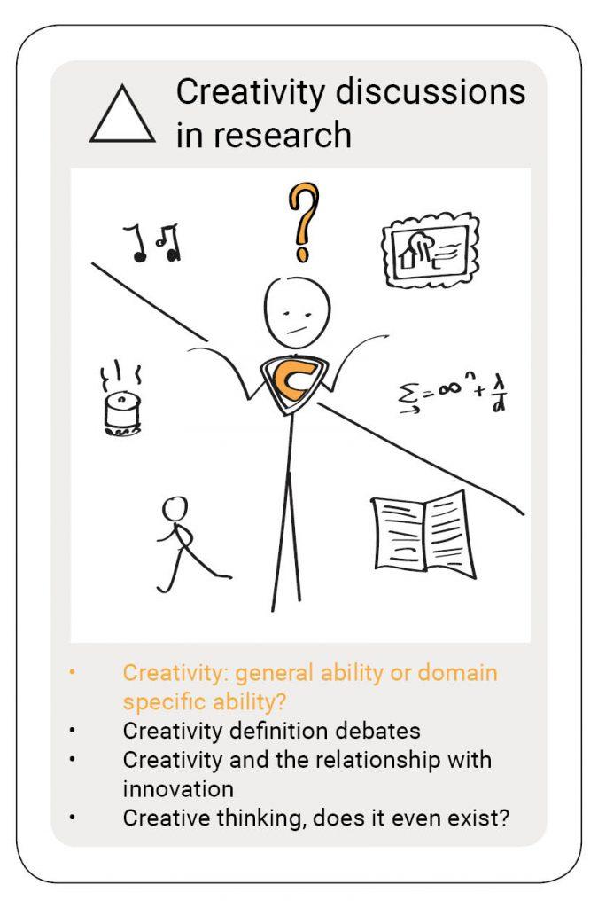 creativity creativiteit domain specific general ability
